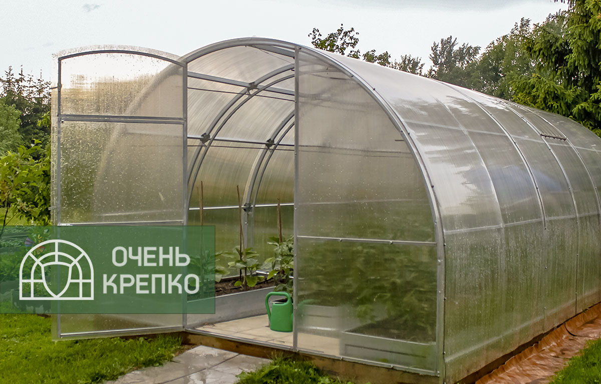 теплицы из поликарбоната усиленные купить москва
